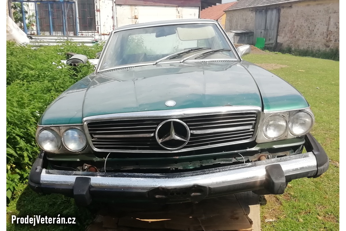 Mercedes W107 - 450SLC coupe