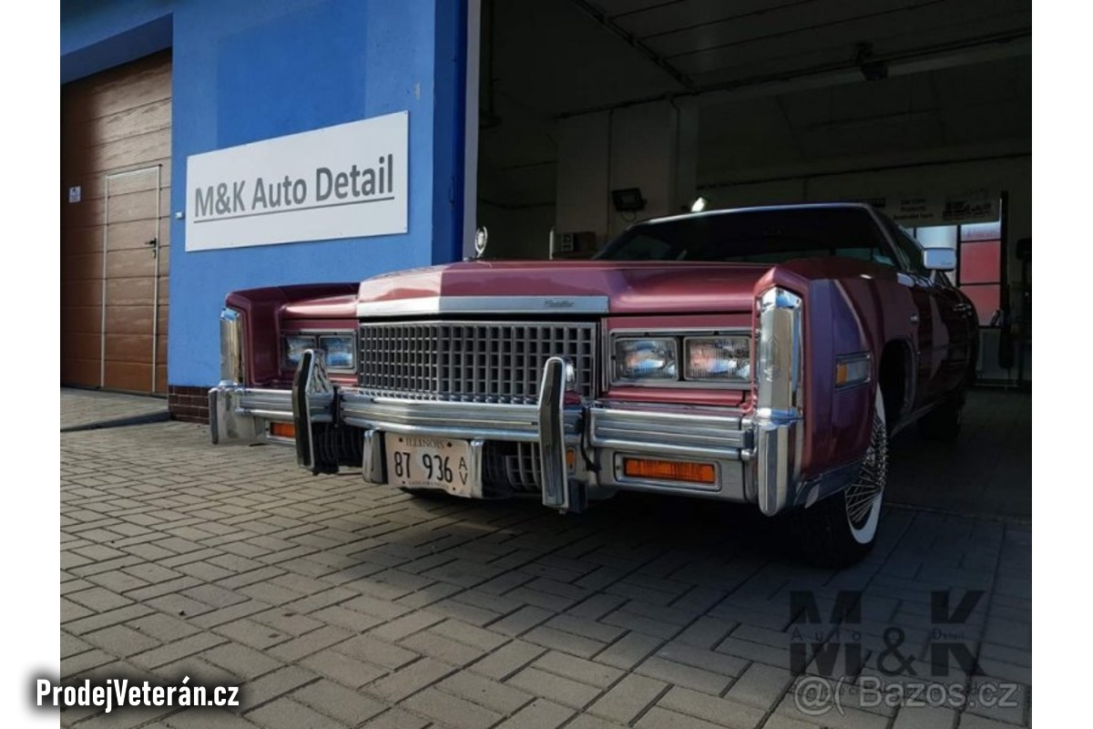Cadillac eldorado coupe 1976 V8 8.2L