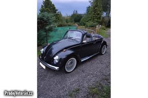 Prodám VW Brouk, cabrio, rok 1959