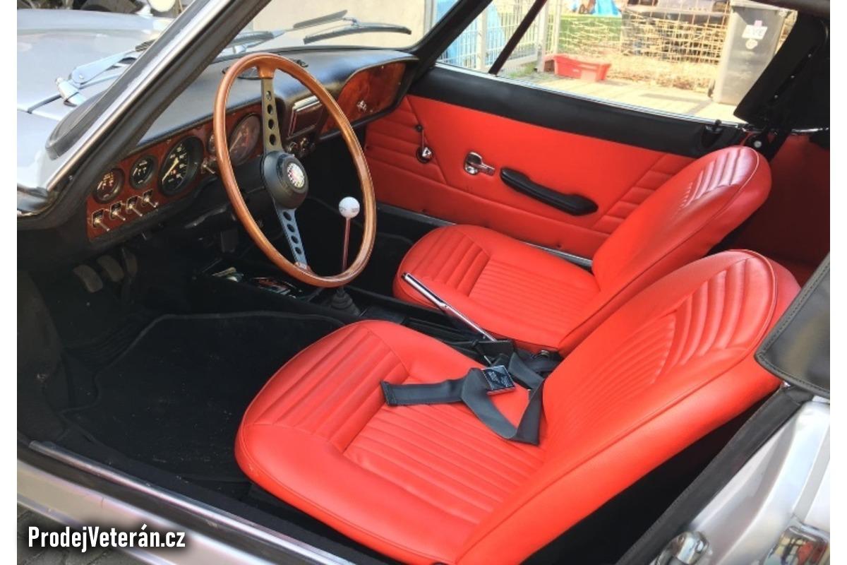 Fiat 850 sport spider Bertone 1970